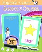 Shapes & Colors: Wipe-Clean Flash Card Set Cards