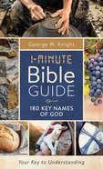 1-Minute Bible Guide: 180 Key Names of God Paperback