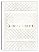 KJV Cross Reference Study Bible White Diamond (Red Letter Edition) Hardback
