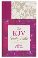 KJV Study Bible Atlas Edition Indexed (Red Letter Edition) Hardback