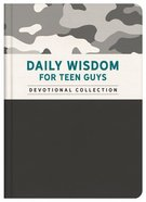 Daily Wisdom For Teen Guys Hardback