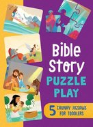 Bible Story Puzzle Play: 5 Chunky Jigsaws For Toddlers Game