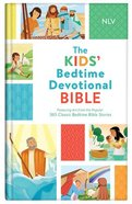 Nlv Kids' Bedtime Devotional Bible Hardback