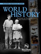 World History: Observations and Assessments From Creation to Today (Student) Paperback