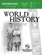 World History: Observations and Assessments From Creation to Today (Teacher Guide) Paperback
