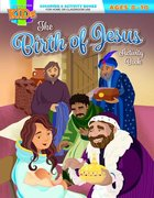 The Birth of Jesus Activity Book (Ages 8-10, Reproducible) (Warner Press Colouring & Activity Books Series) Paperback