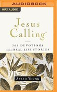 Jesus Calling, 365 Devotions With Real-Life Stories, With Full Scriptures (Mp3) CD