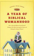"""A Year of Biblical Womanhood: How a Liberated Woman Found Herself Sitting on Her Roof, Covering Her Head, and Calling Her Husband """"Master"""" (9 Cds) CD"""