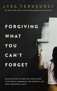 Forgiving What You Can't Forget: Discover How to Move On, Make Peace With Painful Memories, and Create a Life That's Beautiful Again (Unabridged, 7 Cds) CD