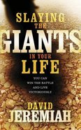 Slaying the Giants in Your Life: You Can Win the Battle and Live Victoriously (7 Cds) CD