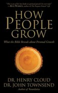 How People Grow: What the Bible Reveals About Personal Growth (12 Cds) CD