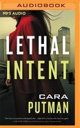 Lethal Intent (Unabridged Mp3) CD