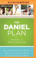 The Daniel Plan: 40 Days to a Healthier Life (Unabridged Mp3) CD