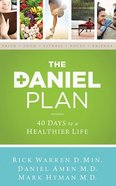 The Daniel Plan: 40 Days to a Healthier Life (7 Cds, Unabridged) CD