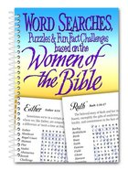 Word Search Based on the Women of the Bible Spiral