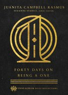 Forty Days on Being a One (Enneagram Daily Reflections Series) Hardback