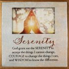 Touching Thoughts Magnet: Serenity... God Grant Me the Serenity... Novelty