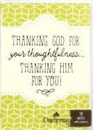 Trend Notes: Thanking Him For You (Phil 1:3 Niv) Stationery