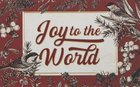 Joy to the World , Green Holly/Silver Balls (25 Pack) (Christmas Pass-around Cards Series) Cards