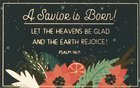 A Savior is Born! (25 Pack) (Christmas Pass-around Cards Series) Cards