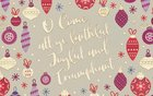 O Come All Ye Faithful (25 Pack) (Christmas Pass-around Cards Series) Cards