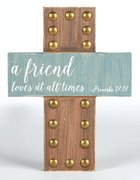 Emmaline Mdf Cross: Friends Homeware