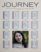 School Photo Frame: Journey Through the Years , Mdf, White (Jeremiah 29:11) Homeware