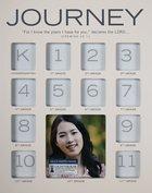 School Photo Frame: Journey Through the Years , Mdf, White (Jeremiah 29:11) Homeware