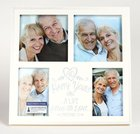 Mdf Frame Collage: 40Th Anniversary Love (Eph 5 2) Homeware