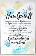 Woodland Grace Plaque: Handprints Plaque