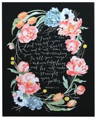 Gracelaced Canvas Art Print: Trust in the Lord, Proverbs 3:5-6 Plaque