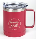 Camp Style Stainless Steel Mug: Mama Bear (325ml) Homeware