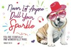 Poster Small: Never Dull Your Sparkle (Psalm 139:14) Poster