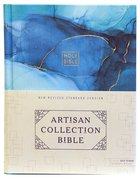 NRSV Artisan Collection Bible Blue Fabric Over Hardback