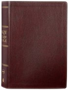 NKJV Study Bible Burgundy (Black Letter Edition) Bonded Leather