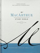 NASB Macarthur Study Bible 2nd Edition Gray Hardback