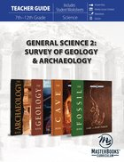 General Science #02: Survey of Geology & Archaeology (Teachers Guide) Paperback