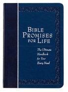 Bible Promises For Life (Navy) Imitation Leather