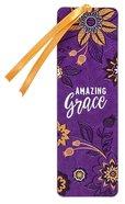 Bookmark Faux Leather: Amazing Grace Stationery