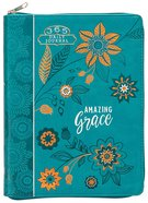Journal: Amazing Grace (Ziparound) Imitation Leather