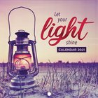 2021 12-Month Small Calendar: Let Your Light Shine Calendar