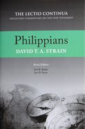 Philippians (Lectio Continua Expository Commentary On The New Testament Series) Hardback