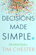 Decisions Made Simple Paperback