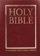 KJV Compact Westminster Reference Bible Burgundy (Black Letter Edition) Vinyl