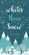 Whiter Than Snow Booklet
