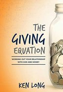 The Giving Equation Paperback