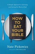 How to Eat Your Bible eBook