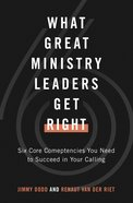 What Great Ministry Leaders Get Right eBook