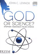 God Or Science?: Stephen Hawking's False Choice CD