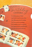 Years and Birthday Cheers (71 To 100 Years) Cards